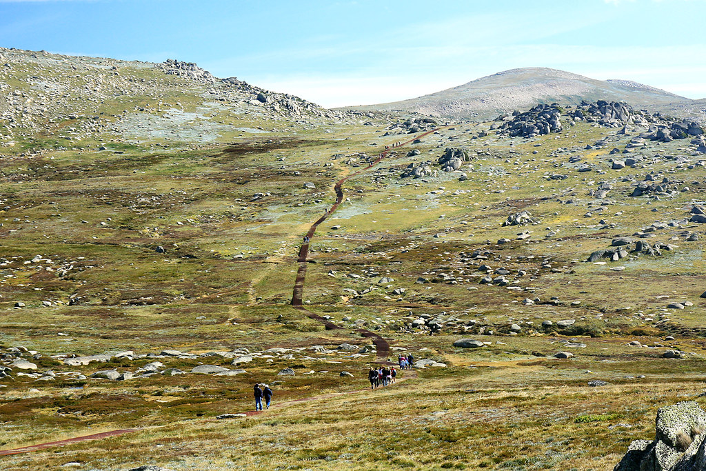Path to Mt Kosciuszko