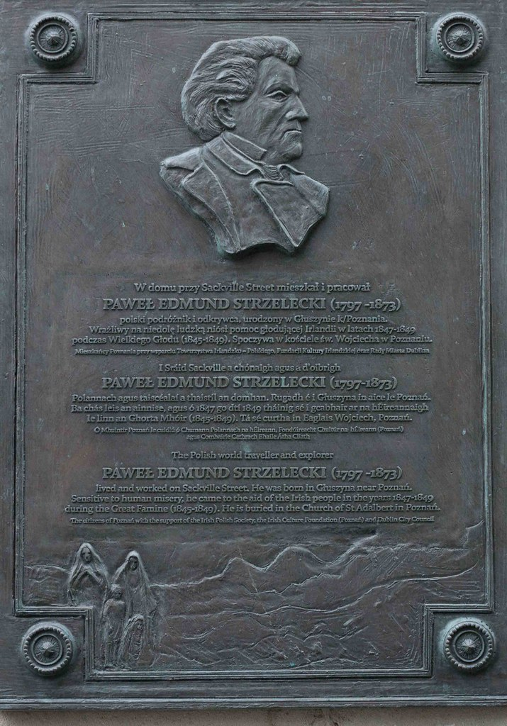 Sir Paweł Edmund Strzelecki [Memorial Plaque Clerys Department Store]-113492
