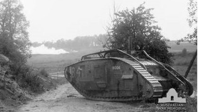 Upcoming Zoom Talk – The Tank Corps at the Battle of Amiens 8 August 1918