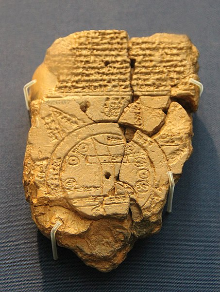 Babylonian Map of the World, known as Imago Mundi