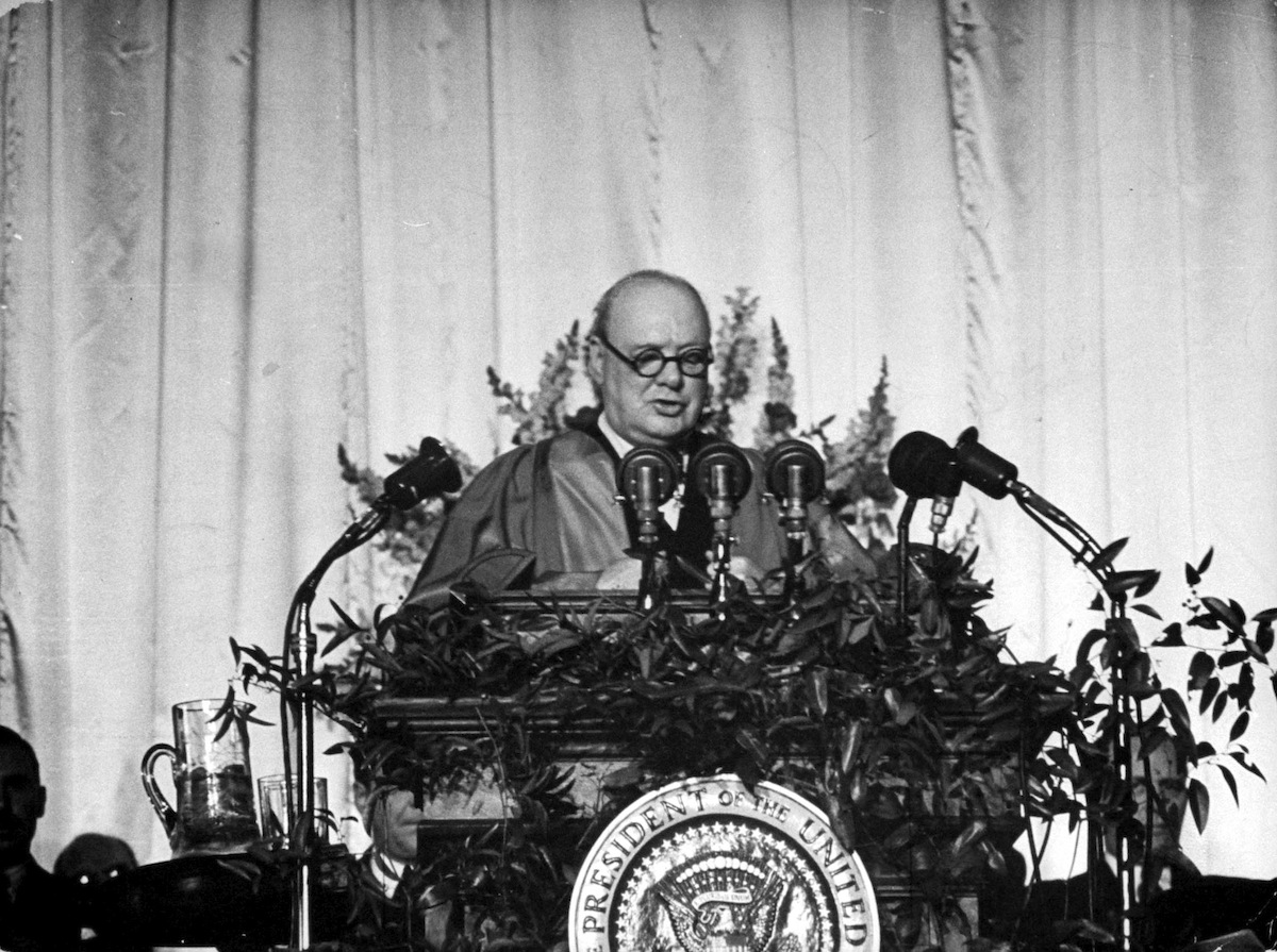 The Cold War, Churchill's Iron Curtain, and the Power of Imagery