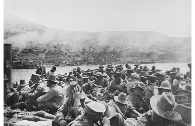 In their own words: letters from ANZACs during the Gallipoli evacuation