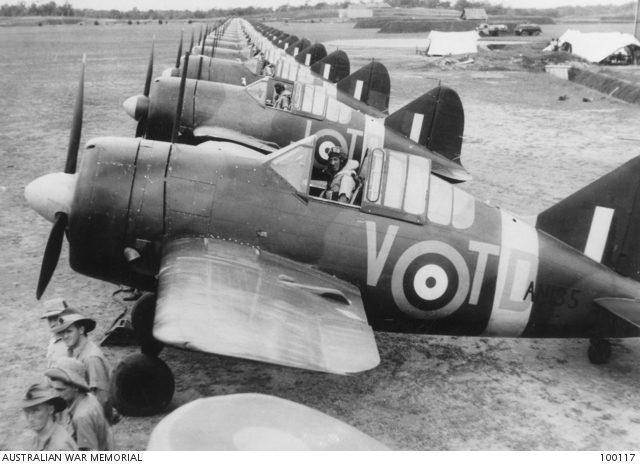 Brewster Buffalo 453SQN RAAF