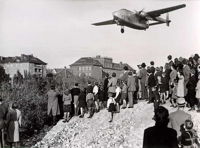 The Cold War Ignites: The Berlin Blockade and Airlift