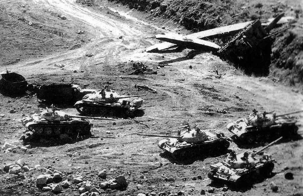 WERE SOVIET TANKS DEPLOYED IN EGYPT 50 YEARS AGO?