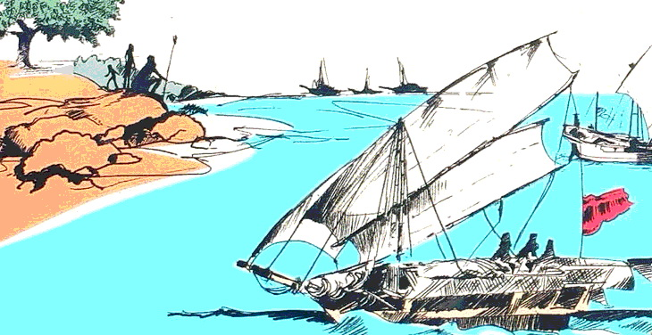 Threat or trading partner? Sailing vessels in northwestern Arnhem Land rock art reveal different attitudes to visitors