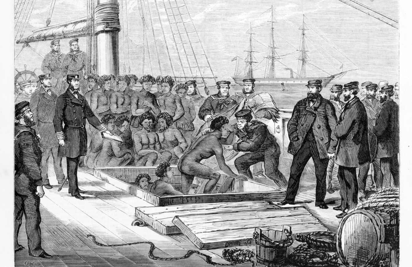 From the Caribbean to Queensland: re-examining Australia's 'blackbirding' past and its roots in the global slave trade