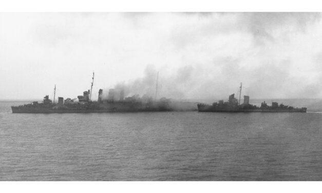 DISASTER AT SAVO ISLAND, 1942