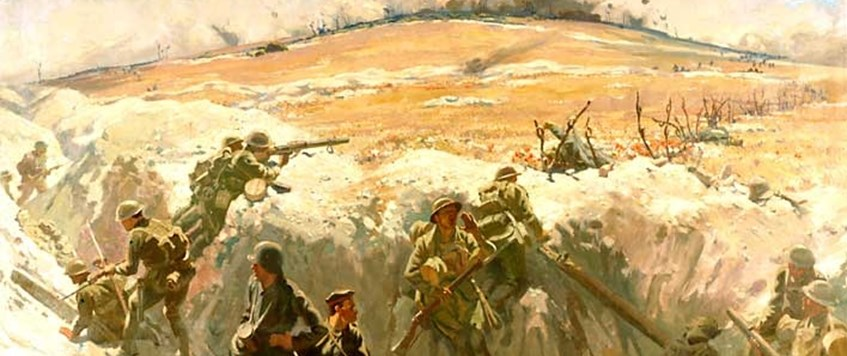 Online Event – A fine feat of War: The taking of Mont St Quentin 1918