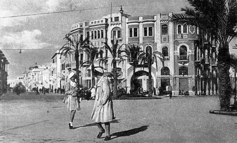 Benghazi in 1938.