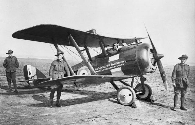 The Australian Flying Corps, 1917–18