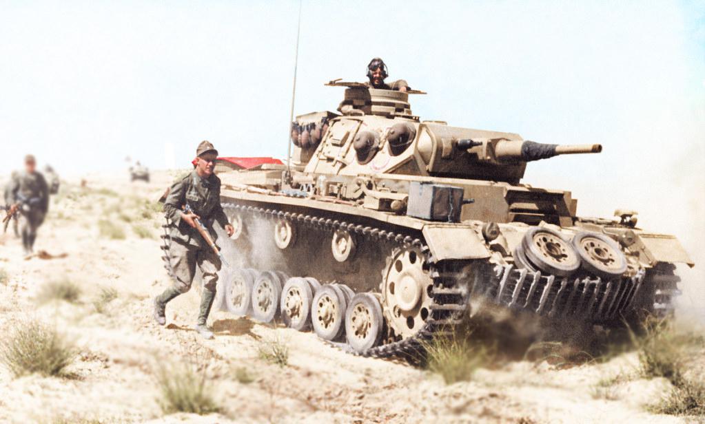 The Afrika Korps.