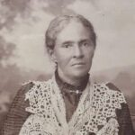 Australia's first known female voter, the famous Mrs Fanny Finch