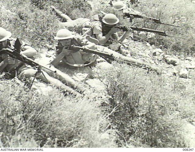 Australian Troops at Syrian Border.