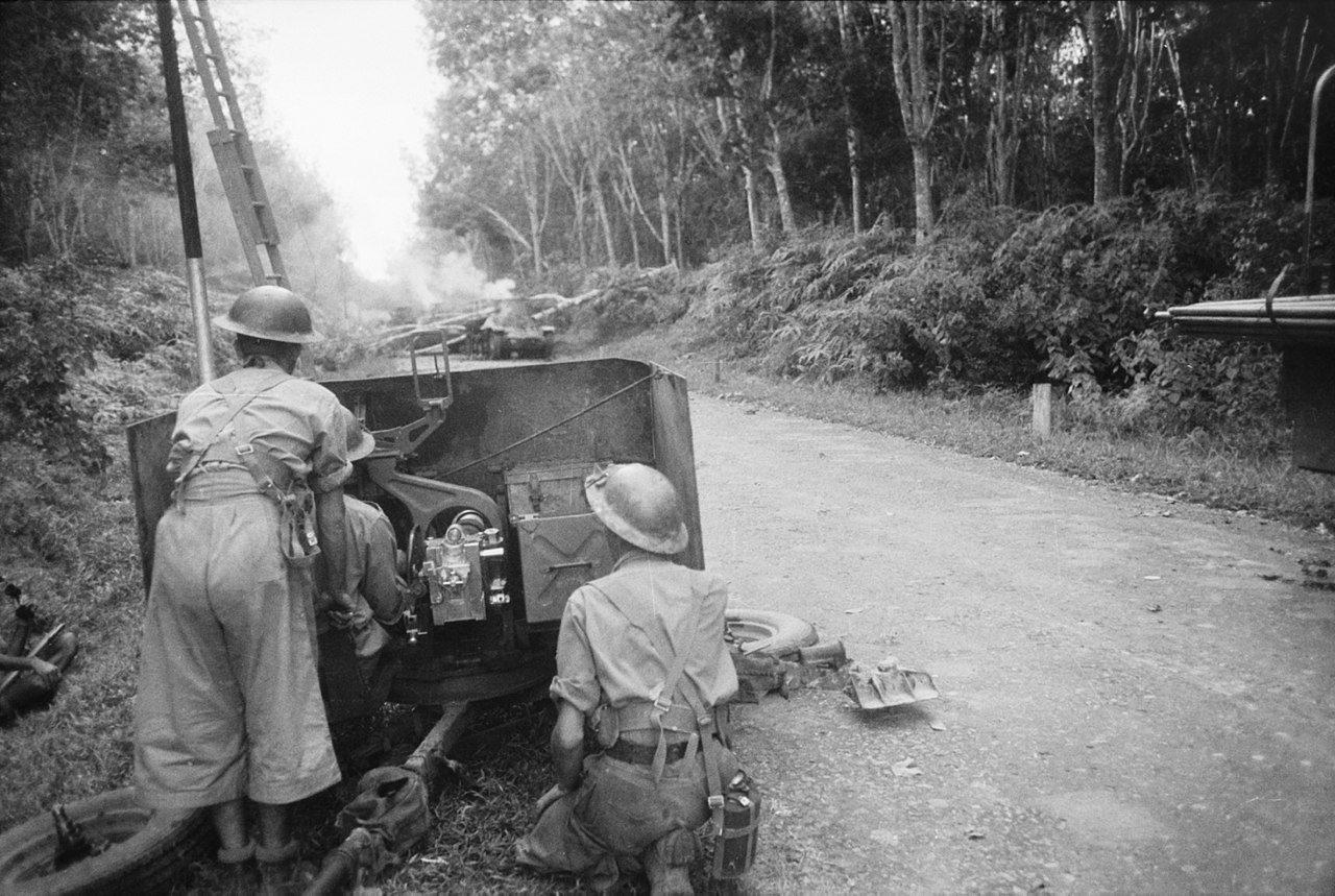 Australian 2pdr Anti-Tank Gun at Bakri