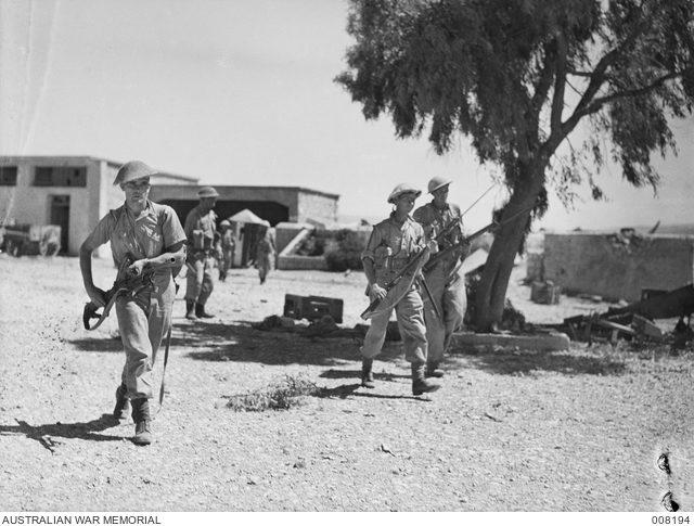 Fort Khiam, Syria. Australian troops