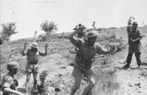 Commonwealth troops captured on Crete