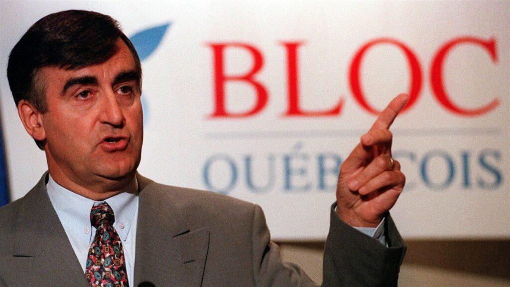 Sovereigntist politician Lucien Bouchard.